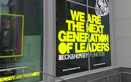 High Impact Window Graphics, Etching and Tints Manchester, Liverpool, Cheshire
