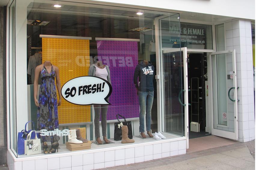 Retail Pos Print Design From Stretford Studios Ltd