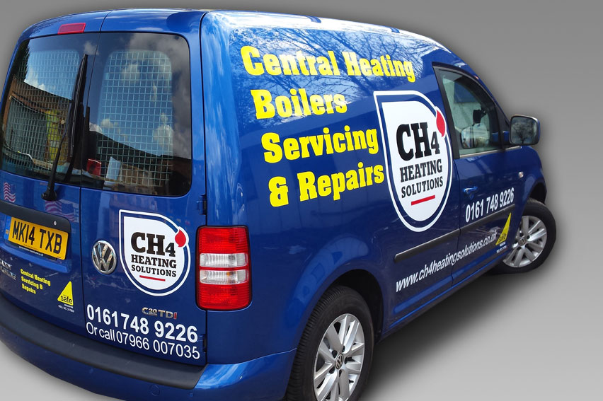 Vehicle Wraps and High Quality Vinyl Graphics from Stretford Studios